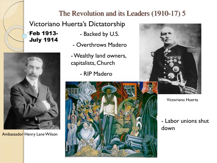 The Revolution and its Leaders (1910-17) 5