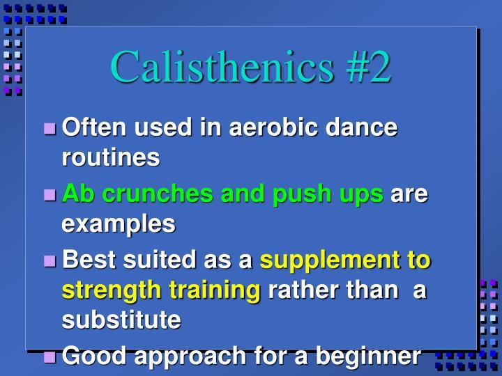 Calisthenics #2