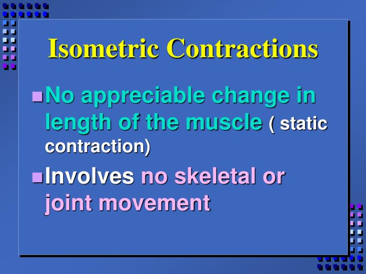Isometric Contractions