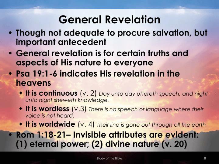 General Revelation