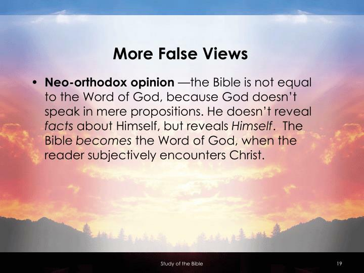 More False Views