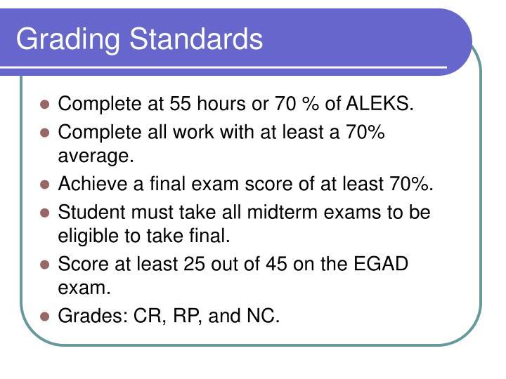 Grading Standards