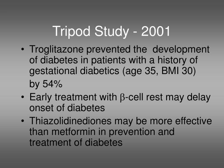 Tripod Study