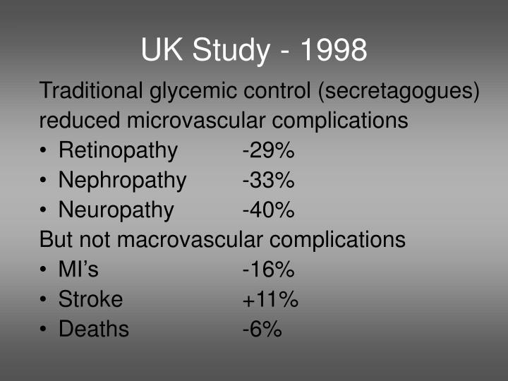 UK Study - 1998