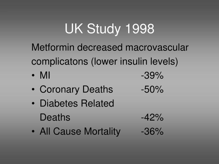 UK Study 1998