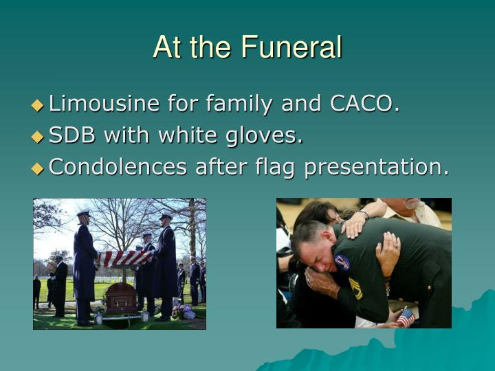 At the Funeral