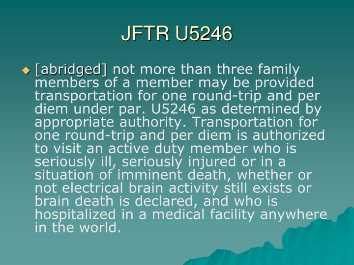JFTR U5246