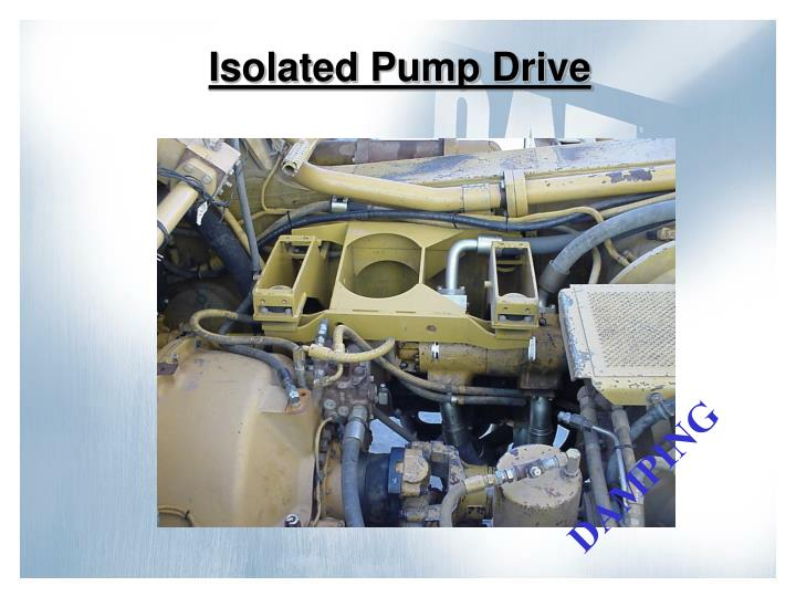 Isolated Pump Drive