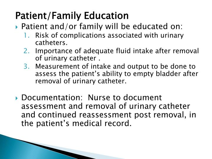 Patient/Family Education