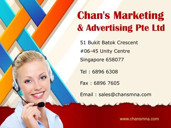 Chan's Marketing