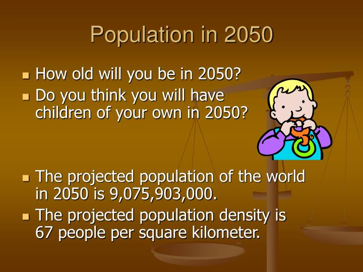 Population in 2050