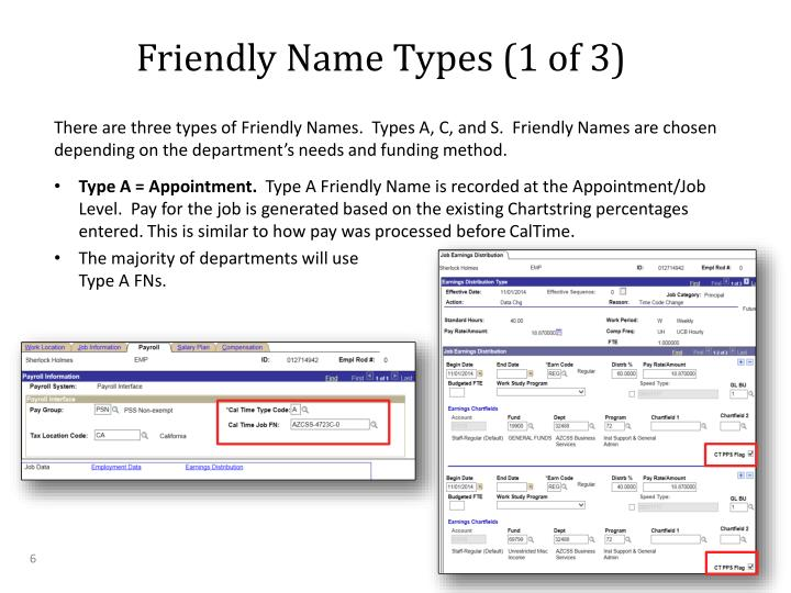 Friendly Name Types (1 of 3)