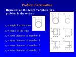 problem formulation2