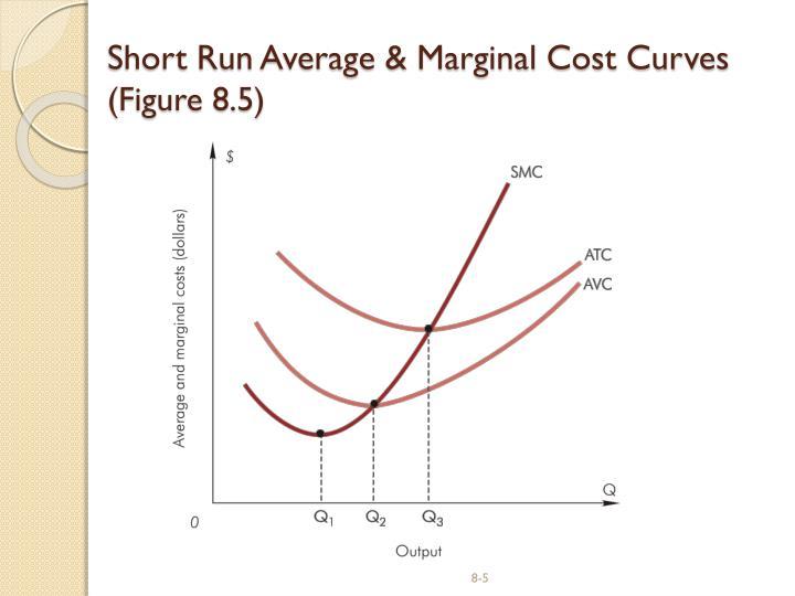 Short Run Average & Marginal Cost Curves
