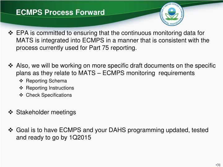 ECMPS Process Forward