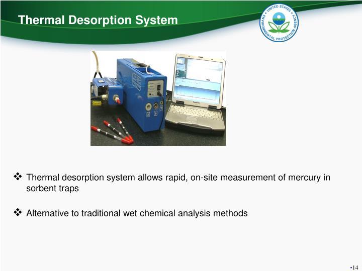 Thermal Desorption System
