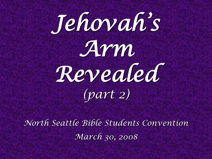 Jehovah's