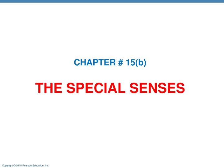 CHAPTER # 15(b)