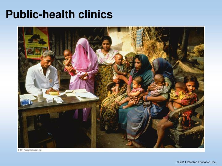 Public-health clinics