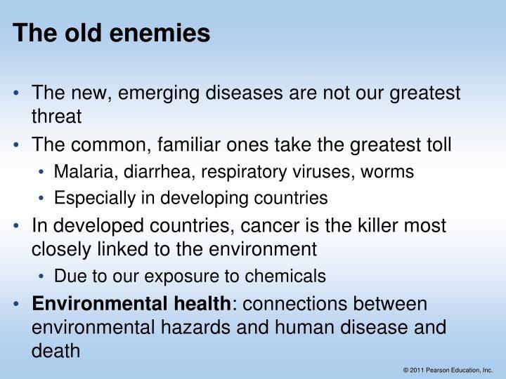 The old enemies