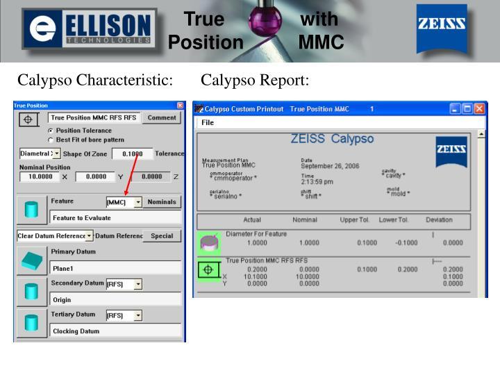 Calypso Characteristic: