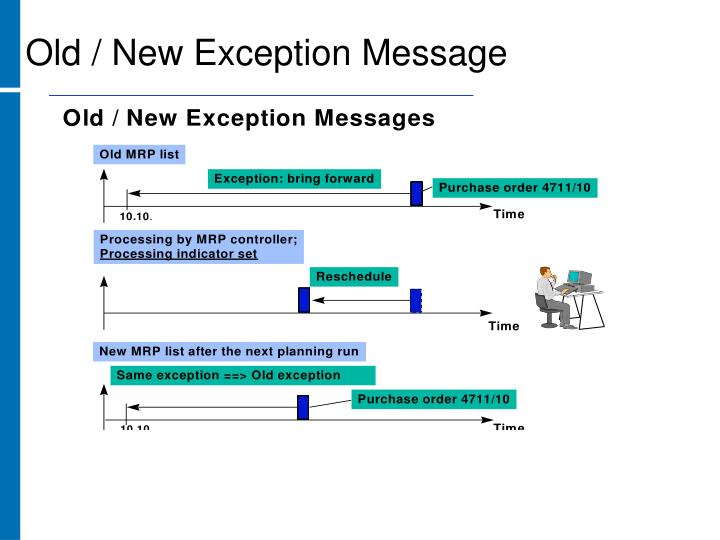 Old / New Exception Message