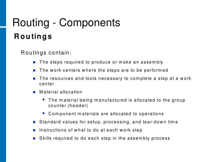 Routing - Components