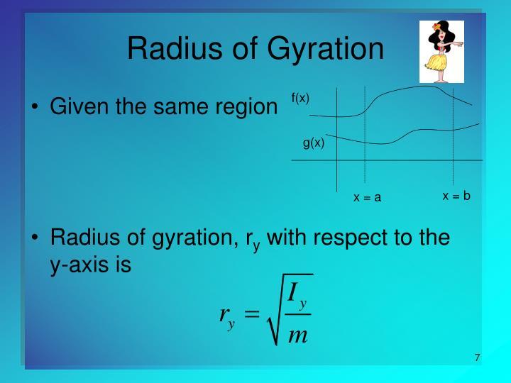 Radius of Gyration
