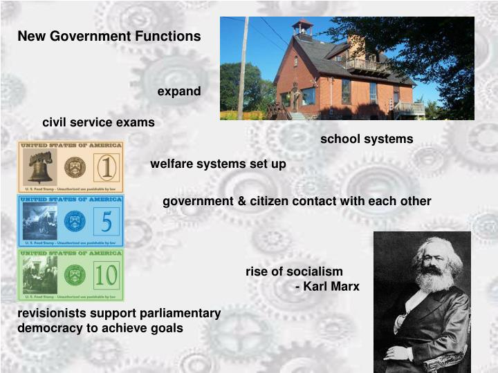 New Government Functions