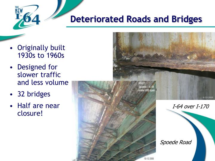 Deteriorated Roads and Bridges