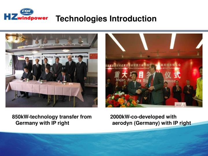 Technologies Introduction