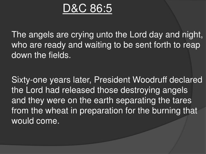 D&C 86:5