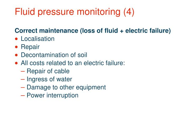 Fluid pressure monitoring (4)