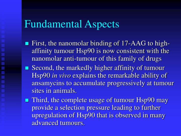 Fundamental Aspects