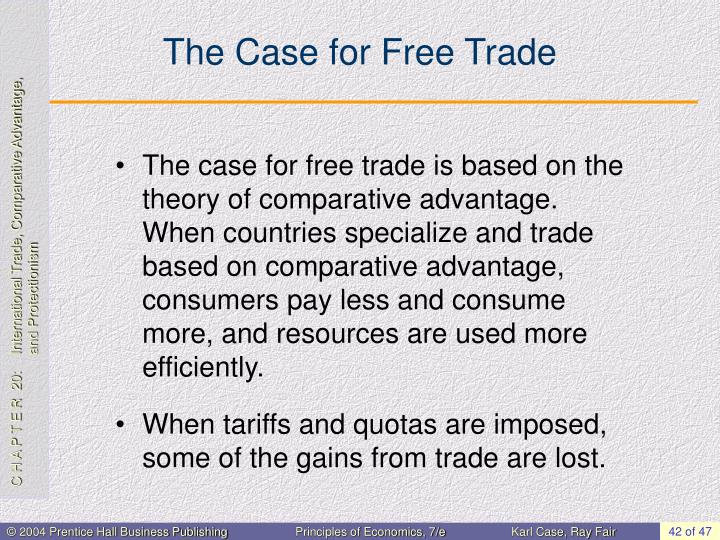 The Case for Free Trade