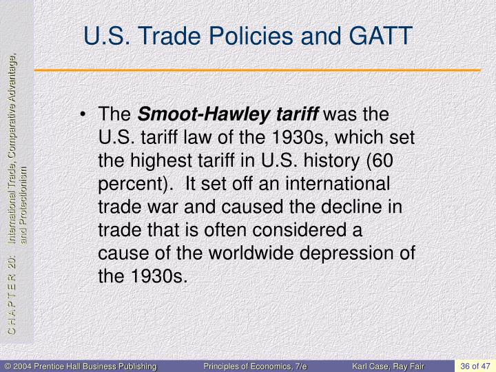 U.S. Trade Policies and GATT
