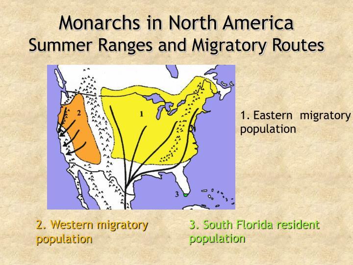 Monarchs in North America