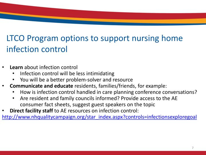 LTCO Program options to support nursing home