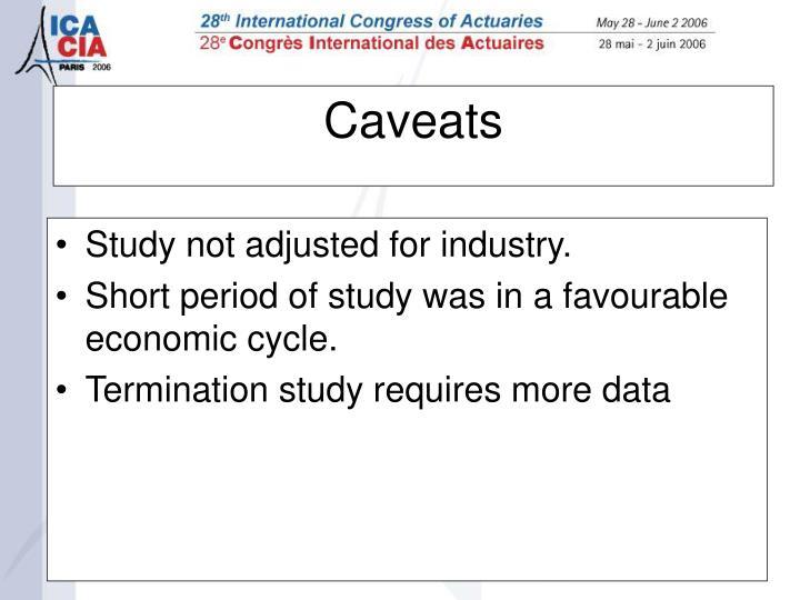 Caveats