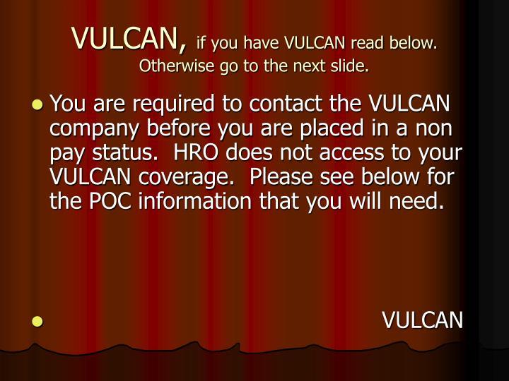 VULCAN,