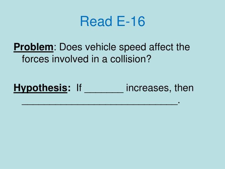 Read E-16