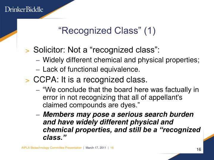 """Recognized Class"" (1)"