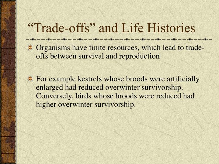 """""""Trade-offs"""" and Life Histories"""