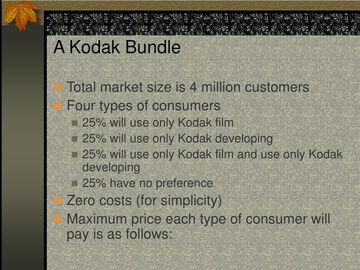 A Kodak Bundle