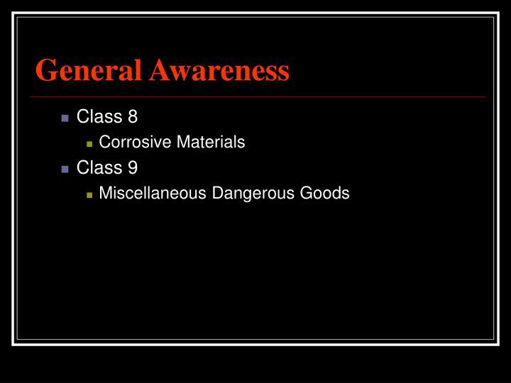 General Awareness