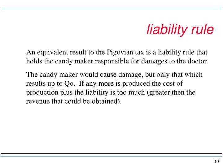 liability rule