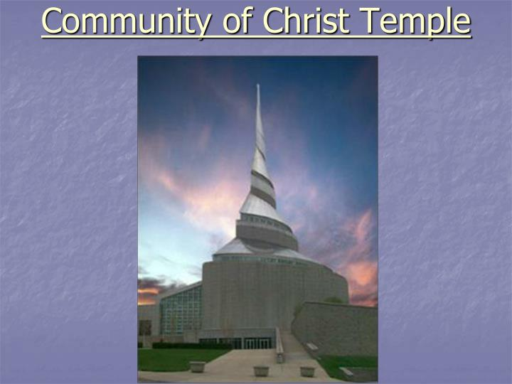 Community of Christ Temple