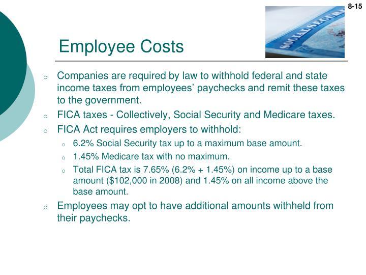 Employee Costs