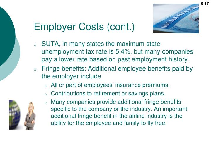 Employer Costs (cont.)