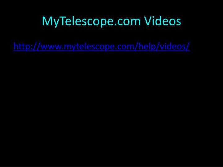 MyTelescope.com Videos